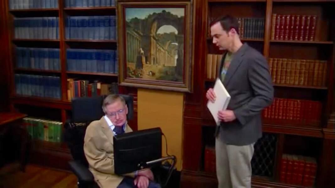 Stephen Hawking, le physicien théoricien à la renommée mondiale, est le héros de Sheldon