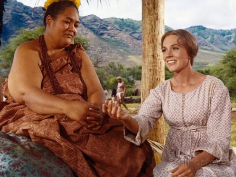 Dans Hawaï, la dame à côté de Julie Andrews, c'est Jocelyne LaGarde ( qui ça ?)