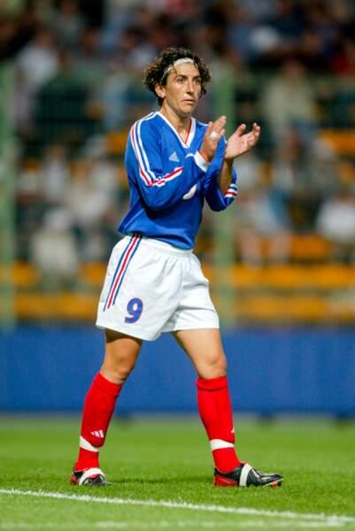 Auteure de 81 buts (un record!), Marinette Pichon (1994/2007) a été la première Bleue à faire parler d'elle