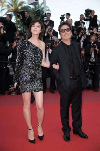 Charlotte Gainsbourg et Yvan Attal sur la tapis rouge de The Meyerowitz Stories