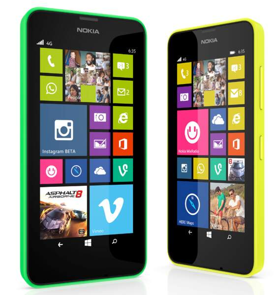 Lumia 635 : il a de la mémoire !