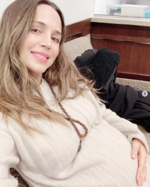 Et que vous avez le sourire comme la future maman Eliza Dushku.