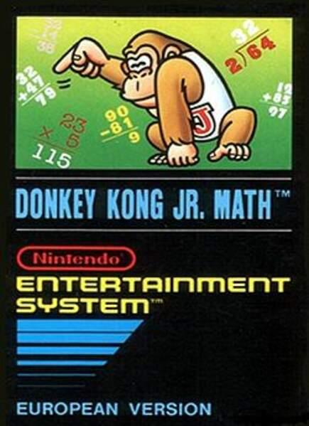 Donkey Kong Jr. Math - NES (1983)