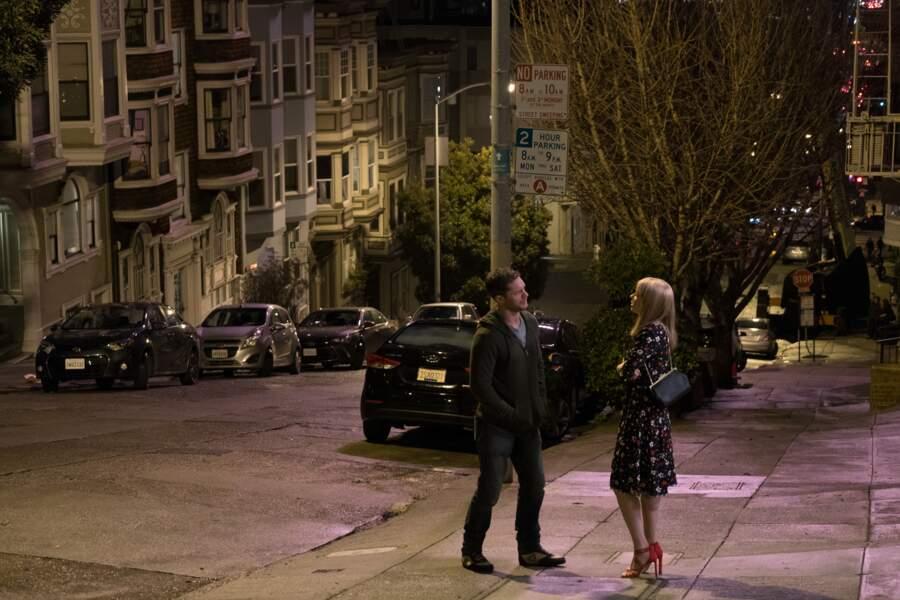 Anne Weying  (Michelle Williams) accuse Eddie de sacrifier son couple au dépend de sa quête obsessionnelle