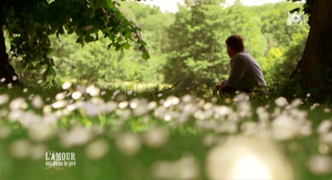 Mais qui est ce penseur, perdu dans la nature ? Christophe, le Vendéen !