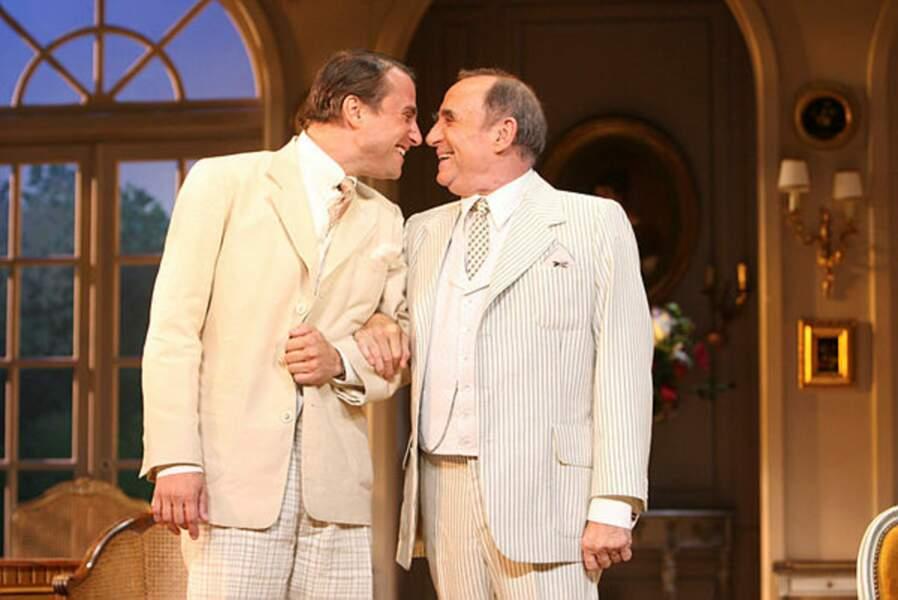 Claude et Alexandre Brasseur toujours proches dans Mon père avait raison de Sacha Guitry au Théâtre Edouard VII