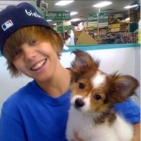 Justin Bieber, lui, est en deuil : son chien Sammy est mort