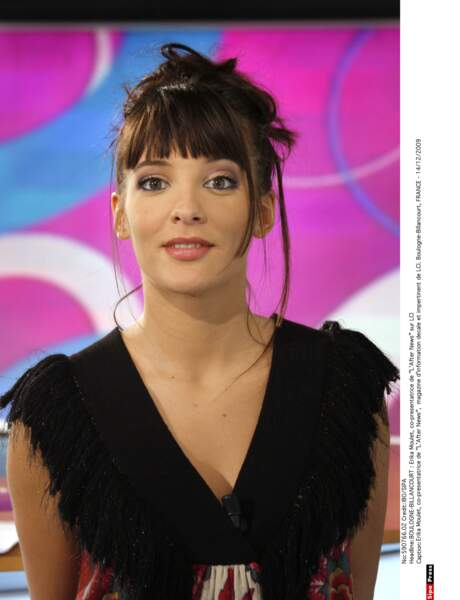 Erika Moulet maquillée...