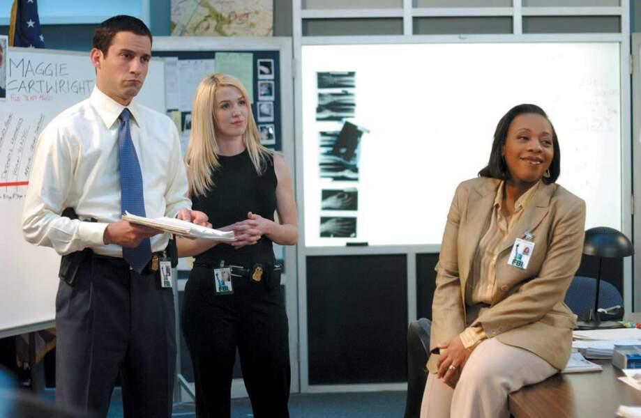 Pour le plaisir, une dernière photo d'une partie des acteurs de FBI : Portés Disparus