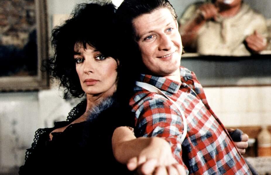Patrick Sébastien est le partenaire de Marie Laforêt dans le film de Jean-Pierre Mocky Le pactole en 1985