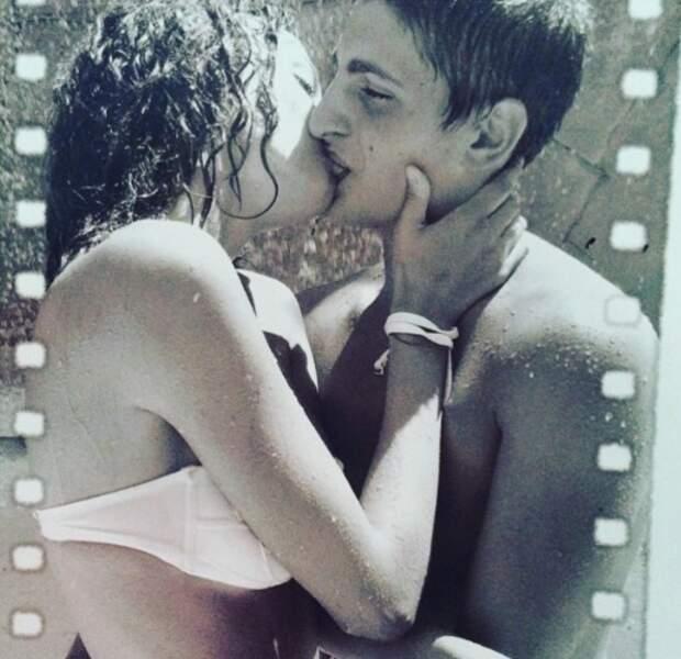 Les deux amoureux sont en couple depuis l'âge de 16 ans !