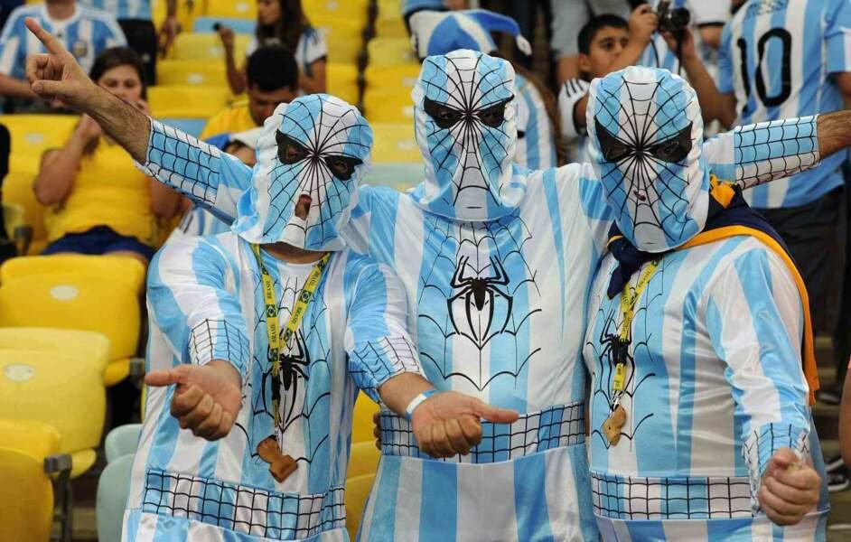 Les Spidermen argentins étaient venus soutenir leur équipe !