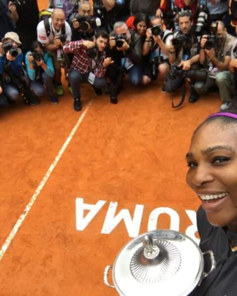 """Si on vous dit """"Serena Williams"""", vous pensez """"joueuse qui gagne tout""""..."""