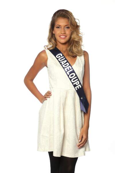 Chloé Deher, Miss Guadeloupe 2013