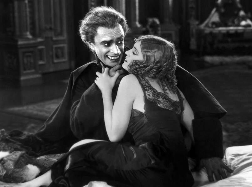 Conrad Veidt dans L'homme qui rit (1928), adapté de l'ouvrage éponyme de Victor Hugo