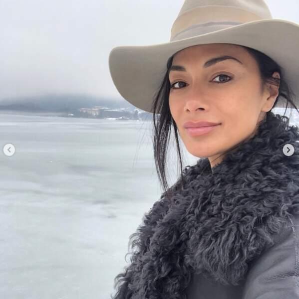 Et Nicole Scherzinger découvrait le lac Ossiach en Autriche.