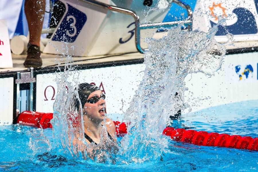 4 août, L'irrésistible Katie Ledecky donne cinq démonstrations en or du 200 au 1 500 m ! Vous avez dit légende ?