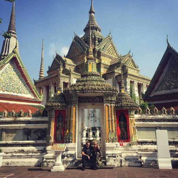 Au programme : visite des temples.