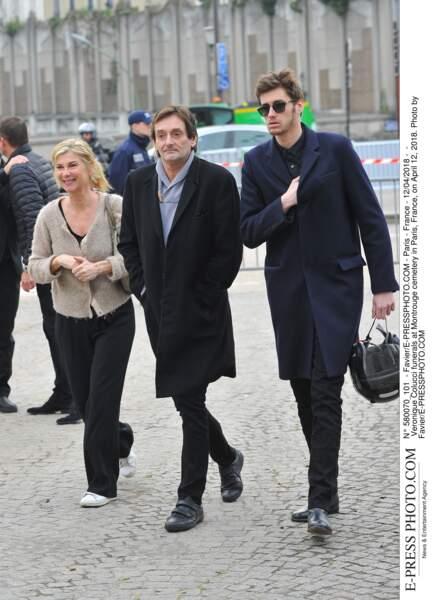Michèle Laroque était aux côtés de Pierre Palmade et Jean-Baptiste Maunier