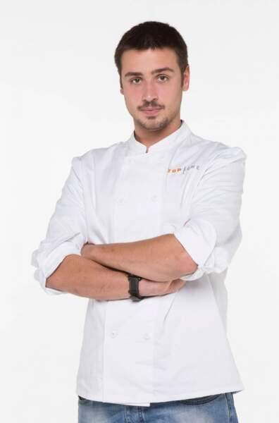 Quentin Bourdy (Villefranche-sur-Rouergue) 23 ans