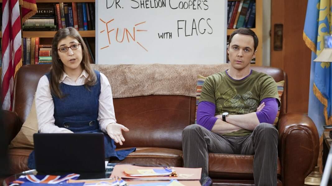 Sheldon Cooper est l'un des héros de la série Big Bang Theory