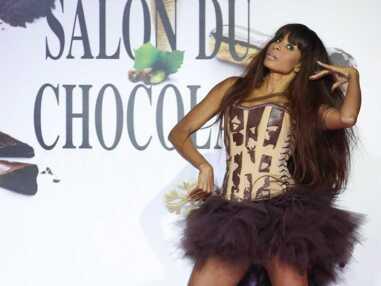 Défilé du Salon du chocolat : Ingrid Chauvin, Ludivine Sagna, Clara Morgane radieuses