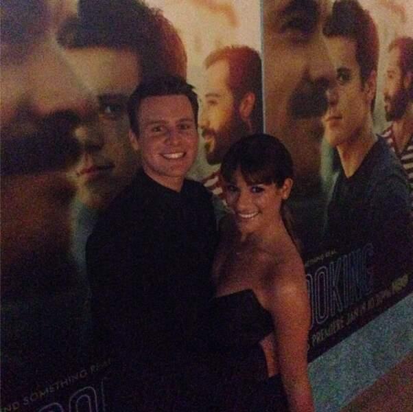 La ravissante Lea Michele qui a retrouvé le sourire