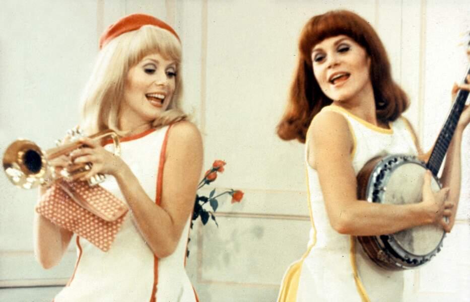… dans Les Demoiselles de Rochefort (1967)…