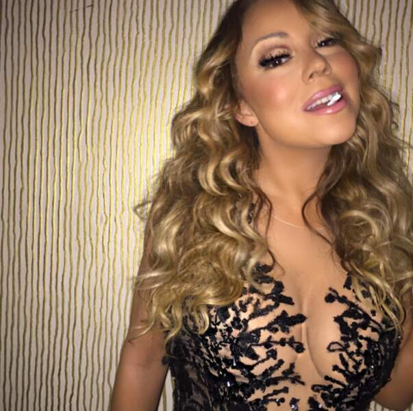 Mariah Carey aime les chewing-gums.