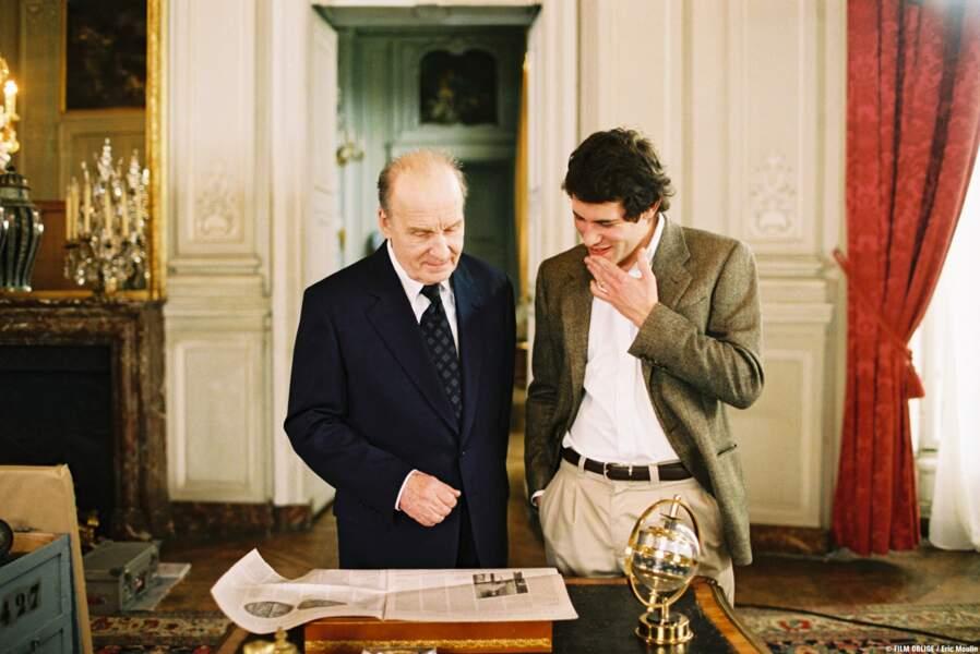 """Michel Bouquet alias """"le président"""" (François Mitterrand) dans Le promeneur du Champ-de-Mars"""