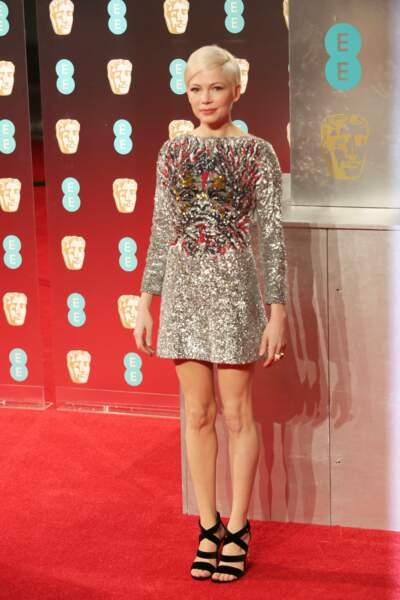 Michelle Williams (Manchester by the Sea, Certaines femmes) a pris la pose sur tapis rouge