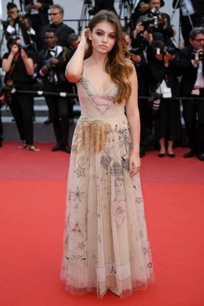 Autre actrice et mannequin présente : Thylane Blondeau