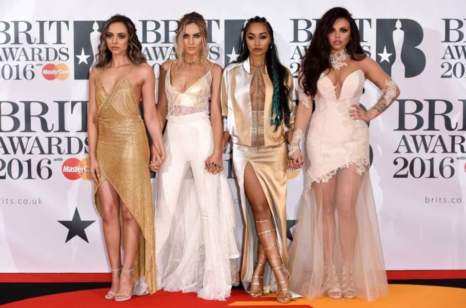 Les Little Mix se sont sûrement concertées pour choisir leurs tenues... Pour le meilleur ?!