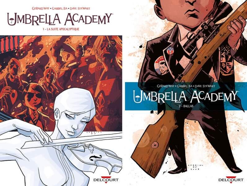 Mais vous retrouverez tous ces personnages dans l'édition française de la bande dessinée, chez Delcourt.