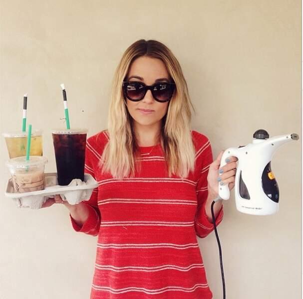 Autre star issue d'une télé-réalité signée MTV, Lauren Conrad (Laguna Beach, The Hills)