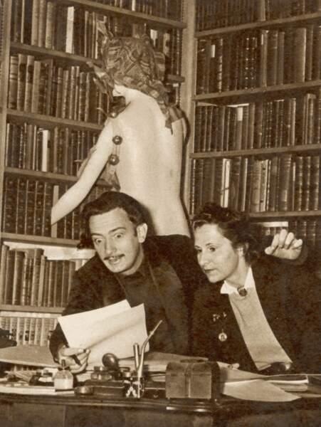 ... tout comme son épouse, Gala. Avant lui, elle avait inspiré Paul Eluard (rien que ça), son ancien mari.