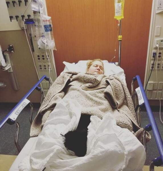 Et on envoie toutes nos pensées à Amy Schumer, hospitalisée durant son deuxième trimestre de grossesse.