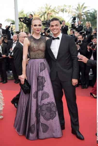 Hatem Ben Arfa est venu en voisin puisqu'il joue à Nice. On parle du haut de sa femme ou pas ?