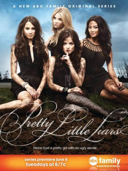 Pretty Little Liars : Bouh les vilaines petites menteuses qui se roulent dans la boue !