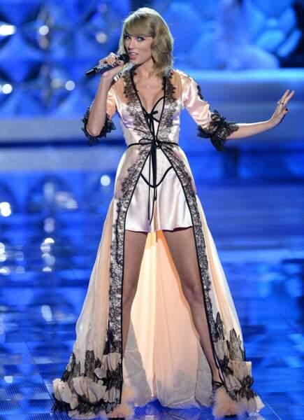 Mais d'autres stars étaient là : Taylor Swift avait elle aussi fait le déplacement...