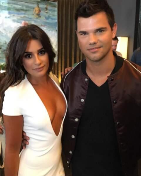 Lea Michele et Taylor Lautner, aussi sexy l'un que l'autre