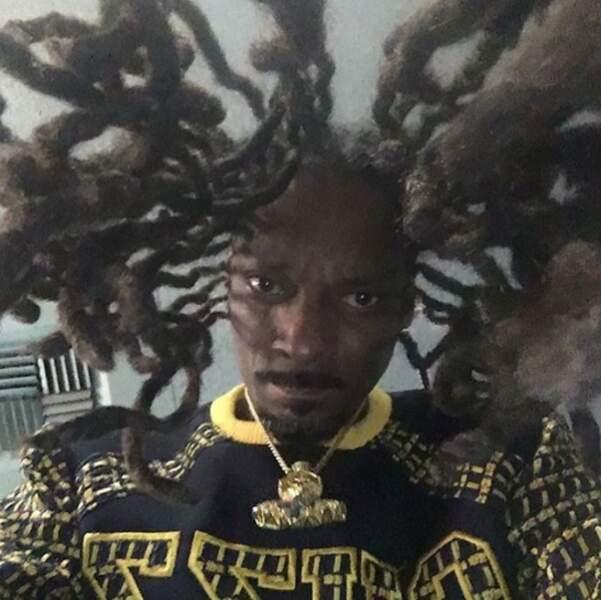 Voici Snoop Dogg vu d'en-dessous.