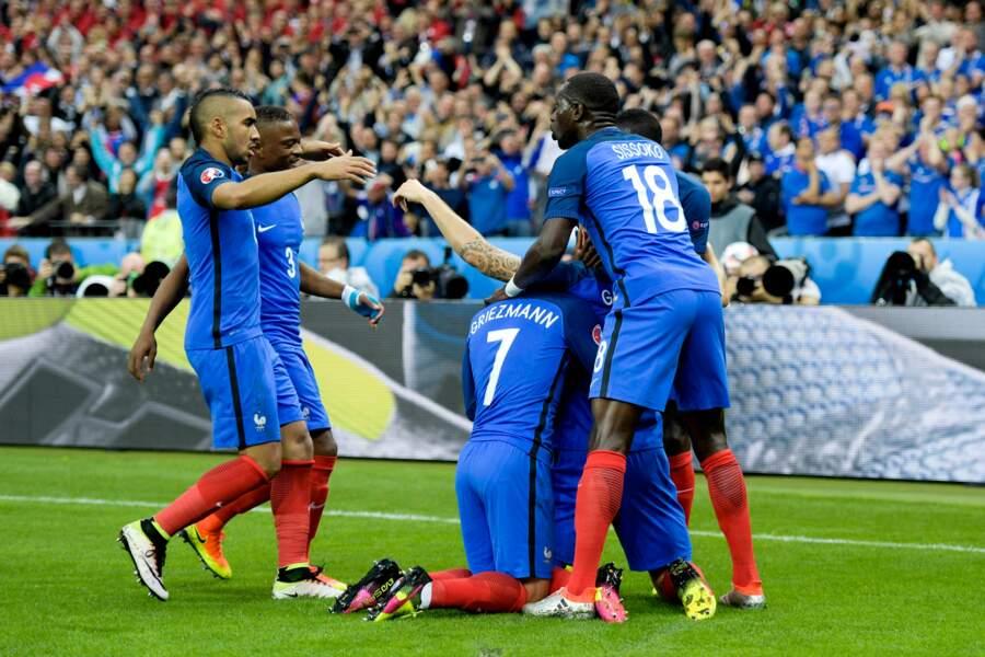 Les Bleus auteurs de cinq buts !