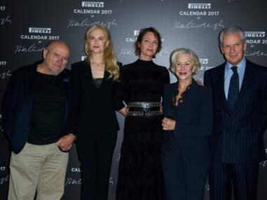 Nicole Kidman, Uma Thurman... de passage à Paris pour le calendrier Pirelli