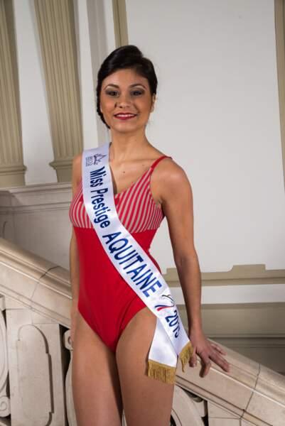 Voici Miss Prestige Aquitaine, Laura Hostein