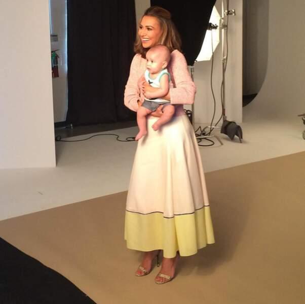 Premier shooting studio pour Josey, le fils de l'actrice Naya Rivera.