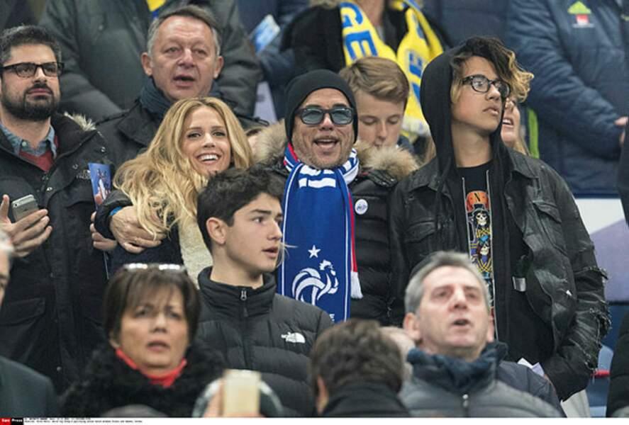 Pascal Obispo vient en famille au Stade de France