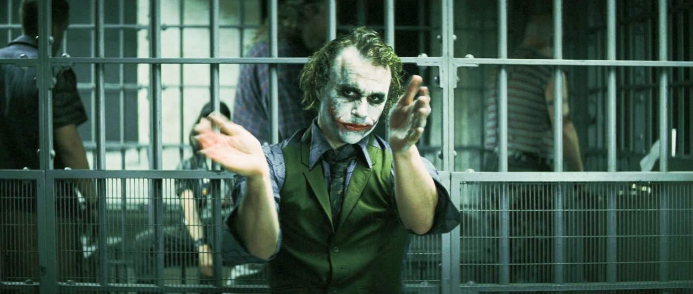 En 2008, Heath Ledger se glisse dans la peau de l'anti-héros dans The Dark Knight, le chevalier noir