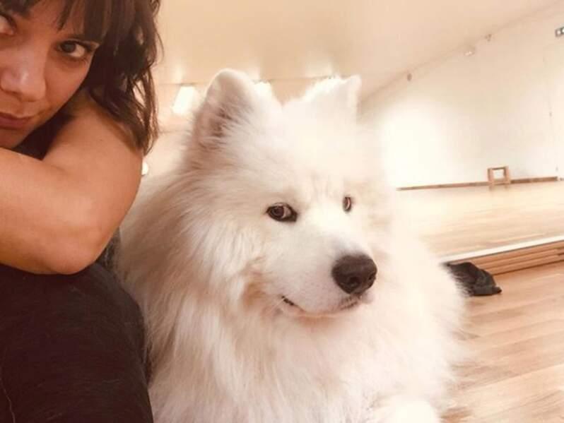 Alizée et son chien, Jon Snow