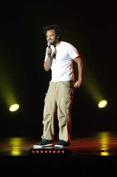 Fabrice Eboué sur scène (2007)